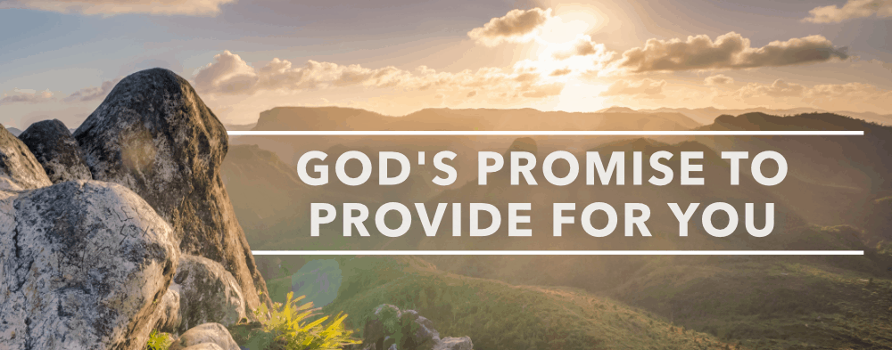God's Promise to Provide for You